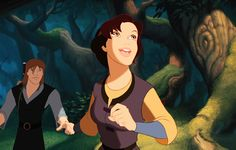 Garrett & Kayley from Quest for Camelot, Warner Brothers