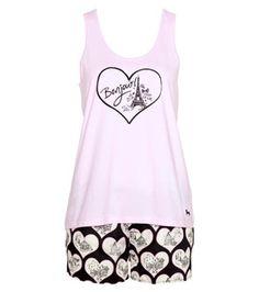 Peter Alexander - Women - PJ Sets - Paris Heart Baguette PJ Set Best Pajamas  193f94db1