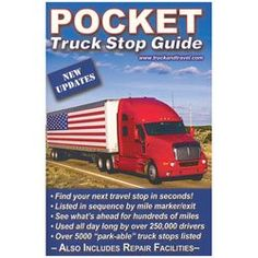 A pocket truck stop guide is a handy yet inexpensive gift for truckers.