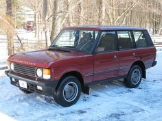 Bahrain-Spec 1992 Range Rover County SWB 5-Speed