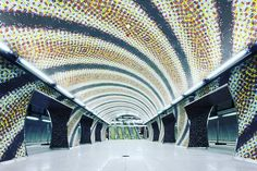 For #design and #architecture lovers: Discover #Metro4 #Budapest #underground stations. Every station is an individual contemporary masterpiece. #urbandecay #architectures #cityview #buildingporn #architexture #instatag #urban #geometric #instagramanet #building #urbanart #citylife #cityscape #cityofbones #tagblender #follow #followme #followback #followforfollow #follow4follow