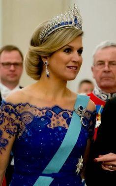 Koningin Màxima Staatsbezoek Denemarken maart 2015