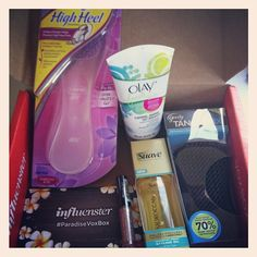 #Paradisevoxbox @Influenster Yay fun stuff :)