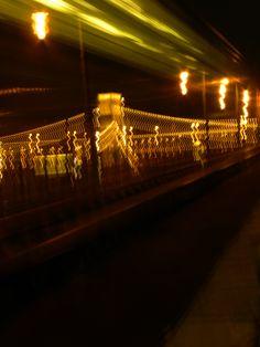 Budapest in night