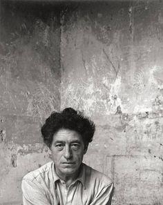 Arnold Newman ALBERTO GIACOMETTI, PARIS 1954. Vintage. Gelatin silver print.