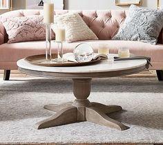Alexandra Coffee Table #potterybarn