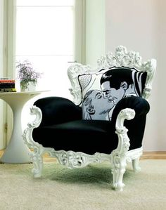baroque chic chair~!