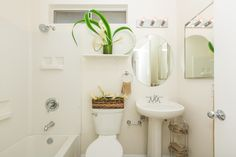 Pristine and clean - this bathroom can be yours...