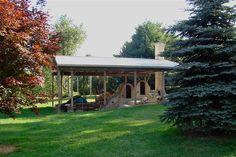 Carol Ohl's kiln in Holmes County, Ohio......I built  the kiln in 2003