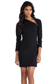 Theory Danella Dress in Black from REVOLVEclothing
