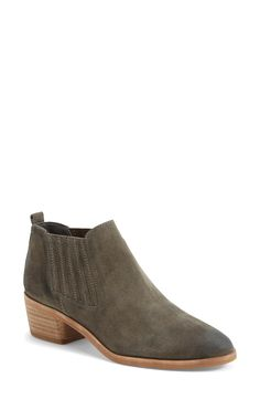 The simple yet on-trend style of these suede Chelsea booties makes them perfect for everyday wear.