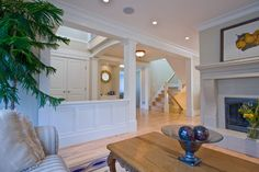 54 Awesome Big Living Room Design Ideas With Stairs. awesome 54 Awesome Big Living Room Design Ideas With Stairs. A good floor with no breaks will produce a room appear more spacious. Storage spaces and shelves are an incredibly […] Big Living Rooms, Design Living Room, Family Room Design, Living Room Decor, Living Room With Stairs, Small Living, Open Basement Stairs, Basement Entrance, Open Stairs