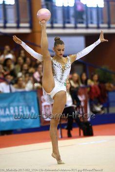 Alexandra SOLDATOVA (Russia) ~ Ball @ Grand Prix Marbella-Spain 04/'17 Bernd Thierolf.