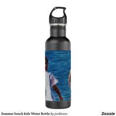 Summer beach kids Water Bottle