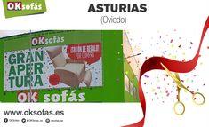 Hoy abre sus puertas, el punto de venta más grande de España, OKSofás Asturias ¿Te perderás el #espectáculo? ¡Te esperamos! #OKSofás #oksofásasturias #nuevatiendaoksofás #decoración #decor #descanso #relax #espectáculo