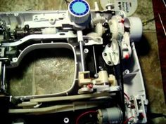 Euro-Pro Shark Sewing Machine what it looks like on the inside. This is just terrible quality, what they dont show you on tv. Sewing Machines, Shark, Euro, Tv, Metal, Youtube, Stuff To Buy, Sharks, Television Set