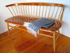 Tradera ᐈ Köp & sälj begagnat & second hand Danish Furniture, Teak Furniture, Outdoor Furniture, Outdoor Decor, Second Hand Online, Take A Seat, Interior Inspiration, Second Hand Clothes, Bench