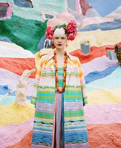 Salvation Mountain, fashion editorial by Julia Galdo and Cody Cloud - ego-alterego.com