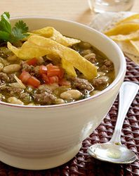 Simple Truth Beef and White Bean Chili