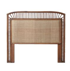 PLANTATION HEADBOARD Naturallycane | Rattan and Wicker Furniture Australia
