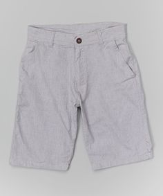 This Gray Shorts - Boys by American Hawk is perfect! #zulilyfinds