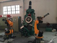 Ring rolling machine hydraulic Principle