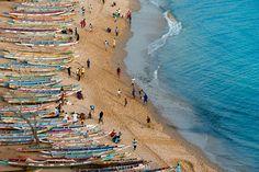 Dakar - Senegal. Ouakam Beach