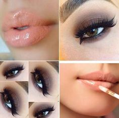 Make up per occhi castani
