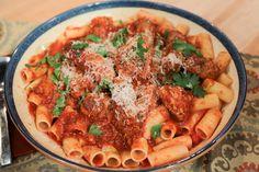 the chew | Recipe  | Mario Batali's Ragu Alla Clemenza
