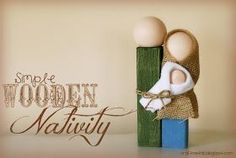 Craft Me This: Simple Wooden Nativity