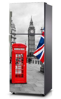 Naklejka na lodówkę - Londyn 0051