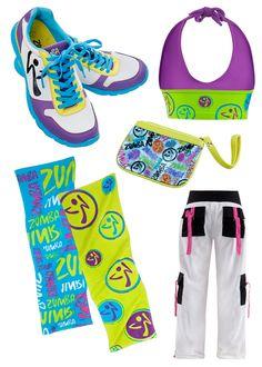 zumba wear, get fit, have fun