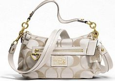 Asha Butterflys - Prize Coach White Daisy Signature Crossbody Handbag  Retails at 198.00 Cheap Coach Bags abf40b4257852