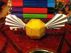Harry Potter Golden Snitch Origami