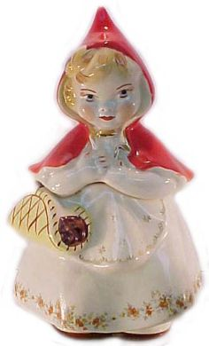 Hull Pottery - Little Red Riding Hood