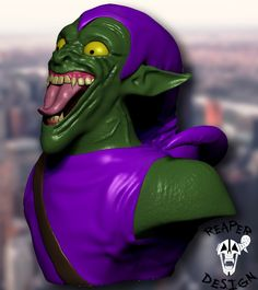 What you think about my sulpture of Green Goblin