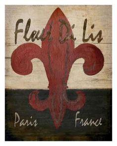 Fleur Di Lis, Karen J. Williams art