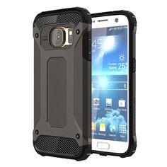 [$1.45] For Samsung Galaxy S7 / G930 Tough Armor TPU + PC Combination Case (Black)