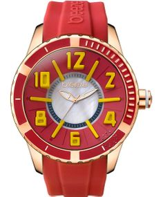 BREEZE Westside Connection Red Rubber Strap Μοντέλο: 110141.16 Τιμή: 130€ http://www.oroloi.gr/product_info.php?products_id=38037