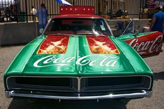 1969 Charger - The Coca Cola Car - Created for Coca Cola by Steve Stanley.