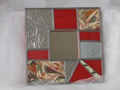 Mirror Mosaic, Mosaic Art, Fused Glass, Stained Glass, Pewter Art, Diy And Crafts, Arts And Crafts, Metal Embossing, Polymer Clay Art