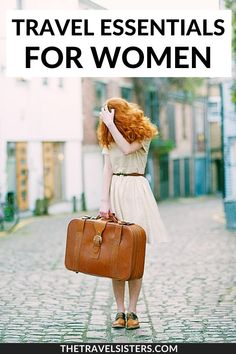 Travel essentials for women that every female traveler needs! #travelessentialsforwomen   chic travel accessories   travel bag essentials woman   travel gear for women   best travel products on amazon   travel toiletries list   cool travel gadgets tech   travel gifts ideas for women fun friends   travel gift guide for her   toiletries packing list   carry on bag essentials teen girl   travel essentials airplane girls   international travel essentials for women long flights packing lists Carry On Bag Essentials, Travel Essentials For Women, Packing For Europe, Packing List For Travel, Vacation Packing, Packing Lists, Backpacking Europe, Paris Packing, Fall Packing