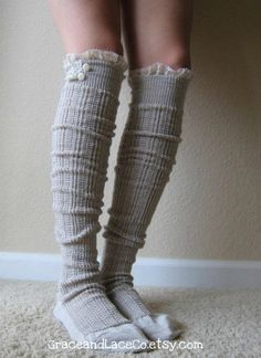 boot socks! cute!