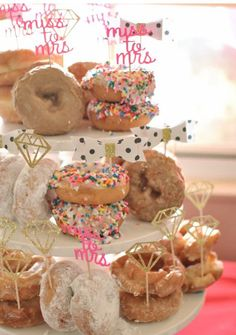 Bridal Shower/ Bachelorette Diamond Cupcake or by SEVENTHandJ