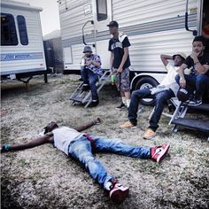 Joey Badass backstage at PAID DUES 2013