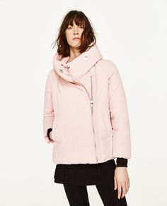 ZARA - COLLECTION SS/17 - SHORT ANORAK WITH WRAP COLLAR