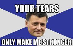 Tears make me stronger
