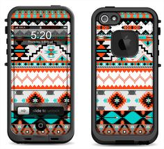 Lifeproof iPhone 5 Case Decal Skin Cover - Native Pattern  - Lifeproof iPhone 4 Case Decal on Etsy, $9.95