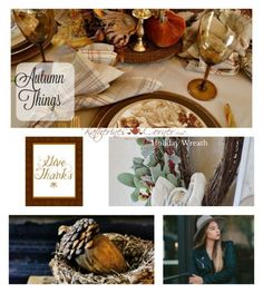 Autumn Things Thursday Favorite Things link party shared at Katherines Corner