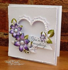 You are my everything card by Liz Walker